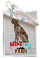 German Shorthaired Pointer Paw Wipe Towel