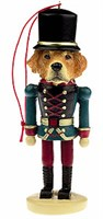 Golden Retriever Ornament Nutcracker