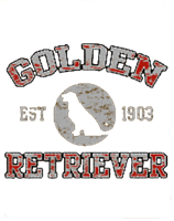 Golden Retriever Shirt Est. 1903