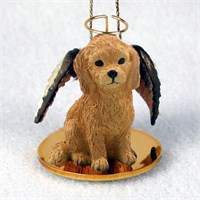 Goldendoodle Christmas Ornament Angel