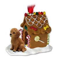 Goldendoodle Gingerbread House Christmas Ornament