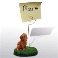 Goldendoodle Note Holder