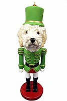 goldendoodle ornament goldendoodle ornament nutcracker - Goldendoodle Christmas Decorations