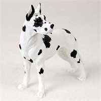 Great Dane Figurine Harlequin