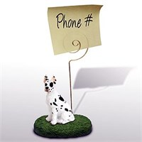 Great Dane Note Holder (Harlequin)