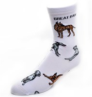 Great Dane Socks Poses 2
