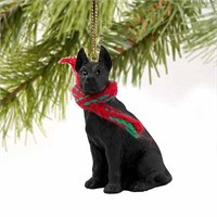 Great Dane Tiny One Christmas Ornament Black