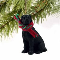 Great Dane Christmas Ornament Black Uncropped