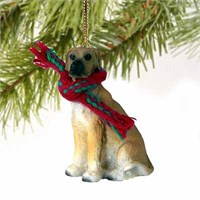 Great Dane Christmas Ornament Fawn Uncropped