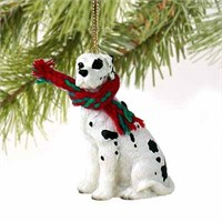 Great Dane Christmas Ornament Harlequin Uncropped