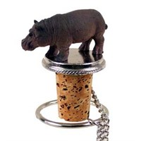 Hippo Bottle Stopper