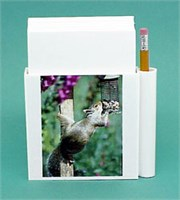 Squirrel Note Holder