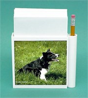 Border Collie Hold-a-Note