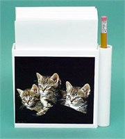 Tabby Cat Hold-a-Note