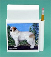 Great Pyrenees Hold-a-Note