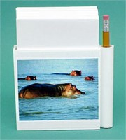 Hippo Note Holder