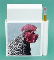 Chicken Note Holder