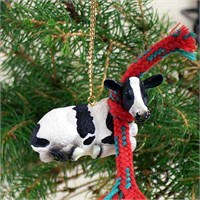 Holstein Cow Tiny One Christmas Ornament