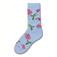 Hummingbird Collage Socks