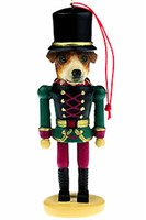 Jack Russell Terrier Ornament Nutcracker