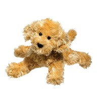 "Labradoodle Plush Stuffed Animal ""Molasses"" 8"""