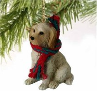 Labradoodle Christmas Ornament Cream-Blonde