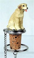 Yellow Lab Bottle Stopper