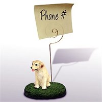 Yellow Lab Note Holder