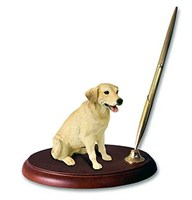 Yellow Lab Pen Holder