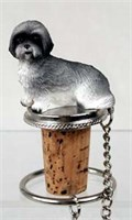 Lhasa Apso Bottle Stopper