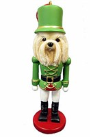 Lhasa Apso Christmas Ornament Nutcracker
