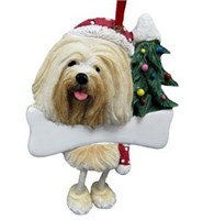 Lhasa Apso Christmas Ornament Tree Personalized