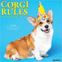 For the Love of Corgis Deluxe Calendar 2019