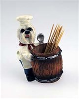Maltese Toothpick Holder