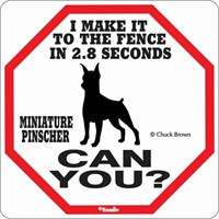 Min Pin 2.8 Seconds Sign
