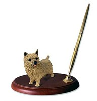 Norwich Terrier Pen Holder