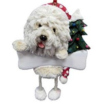 Old English Sheepdog Christmas Tree Ornament Personalized