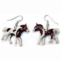 Paint Horse Earrings True to Life