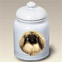 Pekingese Treat Jar