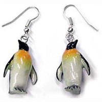 Penguin Earrings True to Life