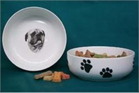 Bullmastiff Dog Bowl