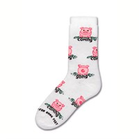 Pig Coming Going Socks