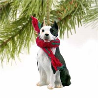 Brindle Pit Bull Terrier Tiny One Christmas Ornament