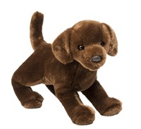 Chocolate Lab Plush