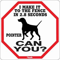 Pointer 2.8 Seconds Sign