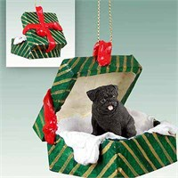 Pug Christmas Ornament Gift Box