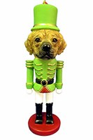Puggle Christmas Ornament Nutcracker
