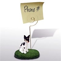 Rat Terrier Note Holder
