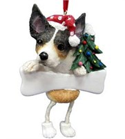 rat terrier tree ornament 14472 Rat Terrier Ornament