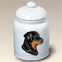 Rottweiler Treat Jar